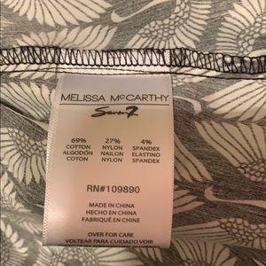 Melissa McCarthy Tops - Melissa McCarthy Black & White Blouse Size Large